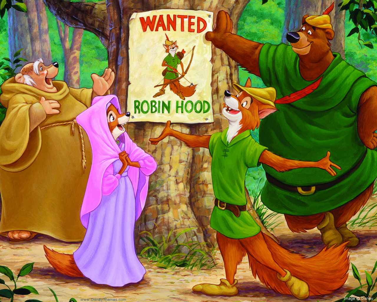 Narrative Text : Robin Hood   English